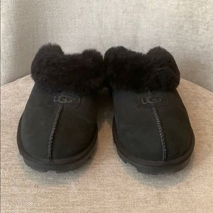 Ugg Coquette Slippers - Black - Size 11